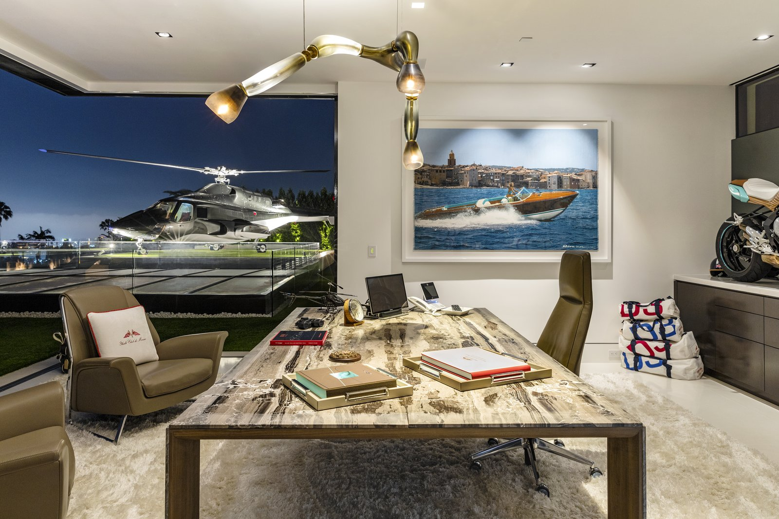 Photo 7 of 8 in Most Expensive Home in the U.S. Lists for $250 Million