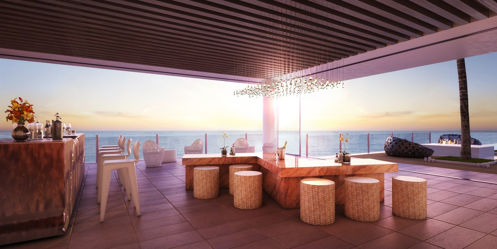 Waiea residence bar lounge  Photo 5 of 5 in Nobu Honolulu at Ward Village is Hawaii's Most Sought-After New Restaurant