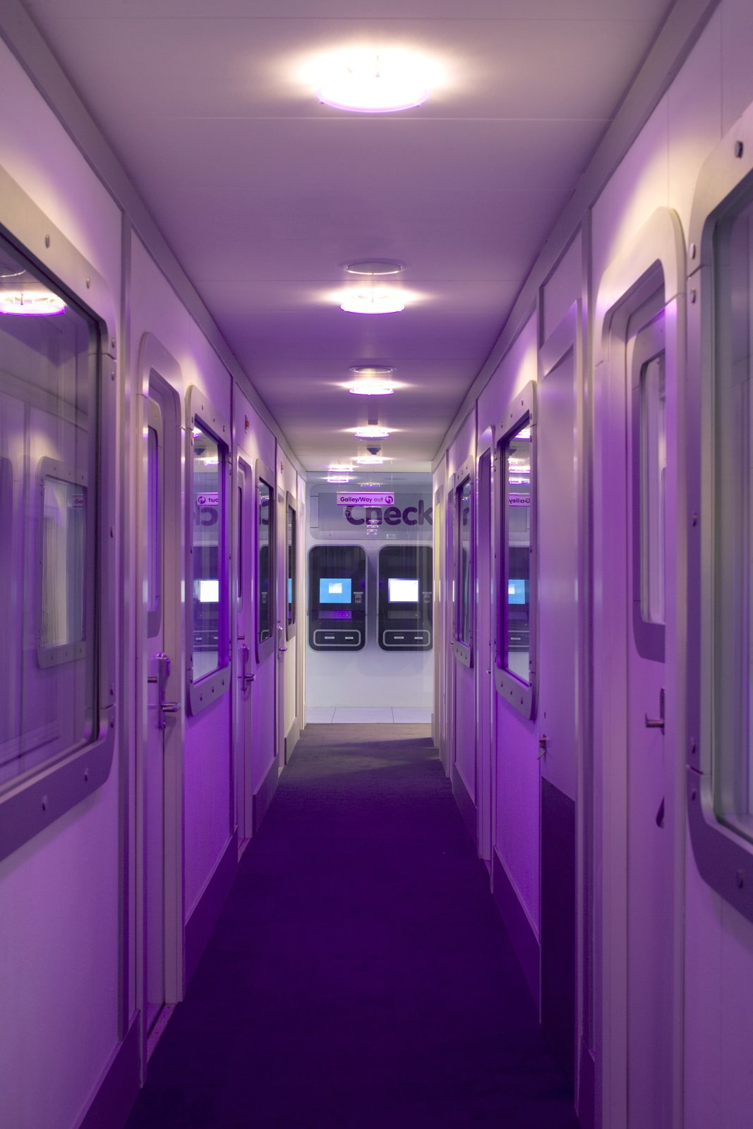 Hallway and Carpet Floor  Yotel