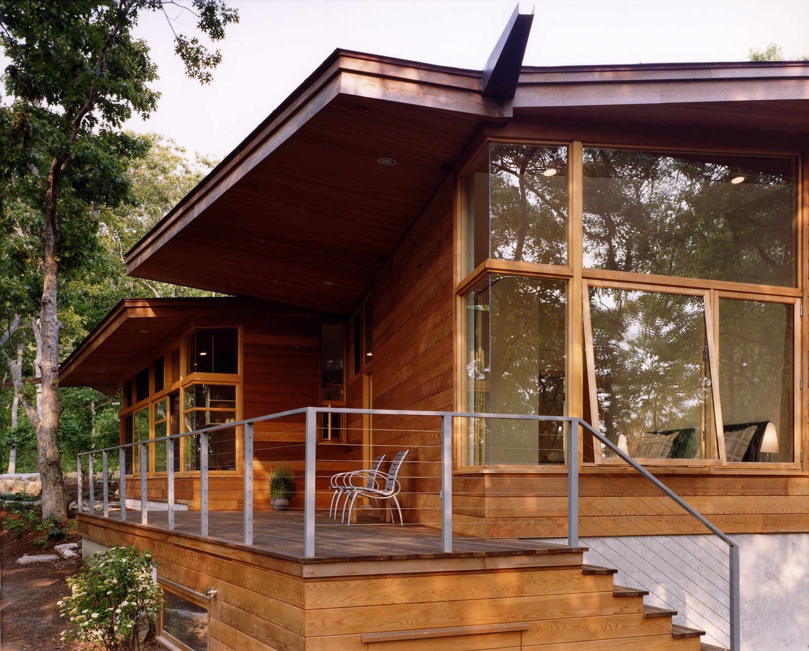 Exterior, Wood Siding Material, Metal Roof Material, and House Building Type  Chilmark House