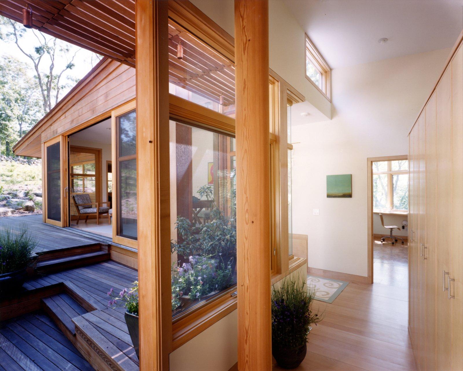 Hallway and Light Hardwood Floor  Chilmark House