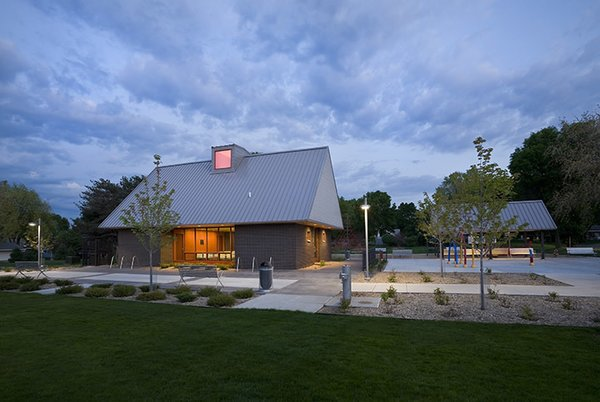 A modern and fresh approach to a small public park in Minnesota.
