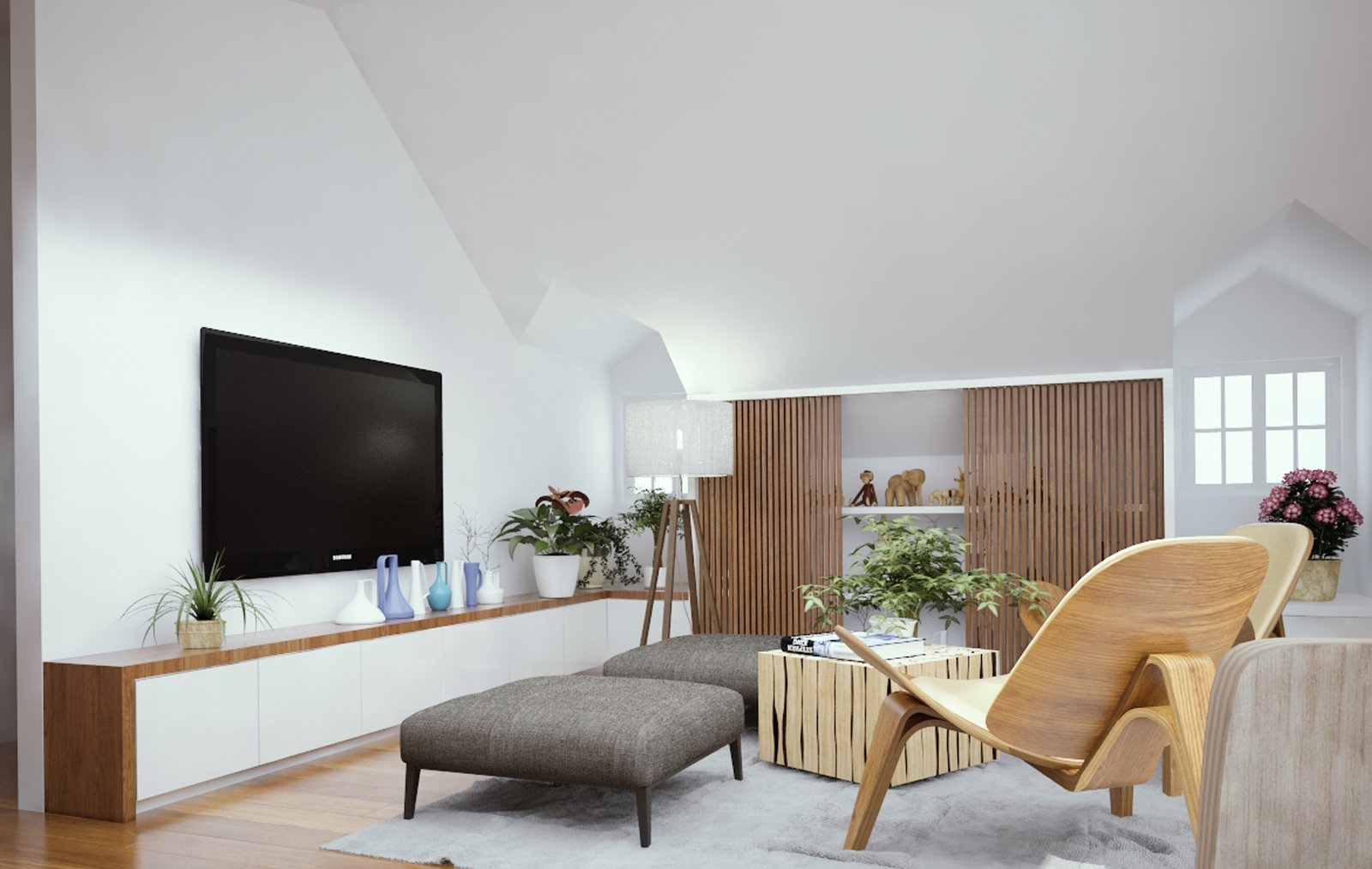Inspired Flexible Attic Space