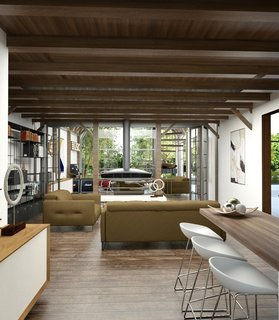 This Farmhouse Design is a Modern-Day Fairytale - Photo 8 of 8 - Competition: Modern Farmhous