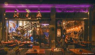 BUNKER, Post-apocalyptic themed bar