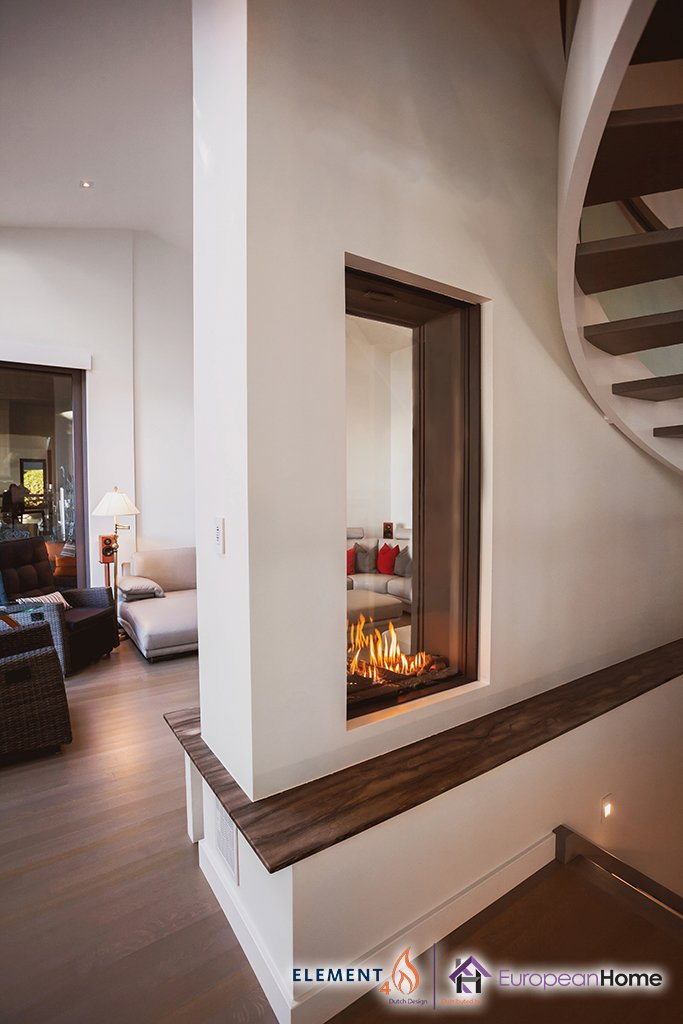 Sky T See-Through Gas Fireplace