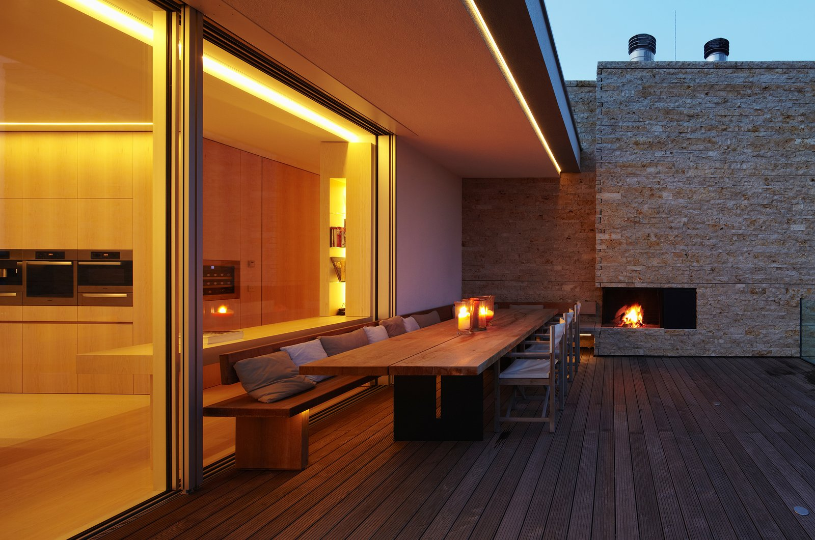 Outdoor  House S by Stephan Maria Lang