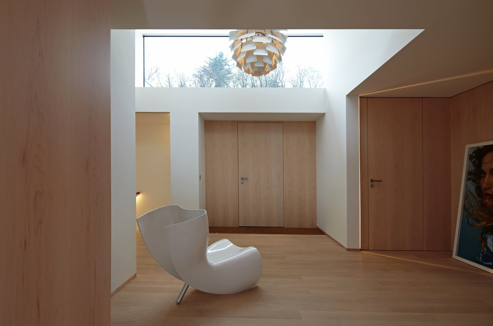 Hallway  House S by Stephan Maria Lang