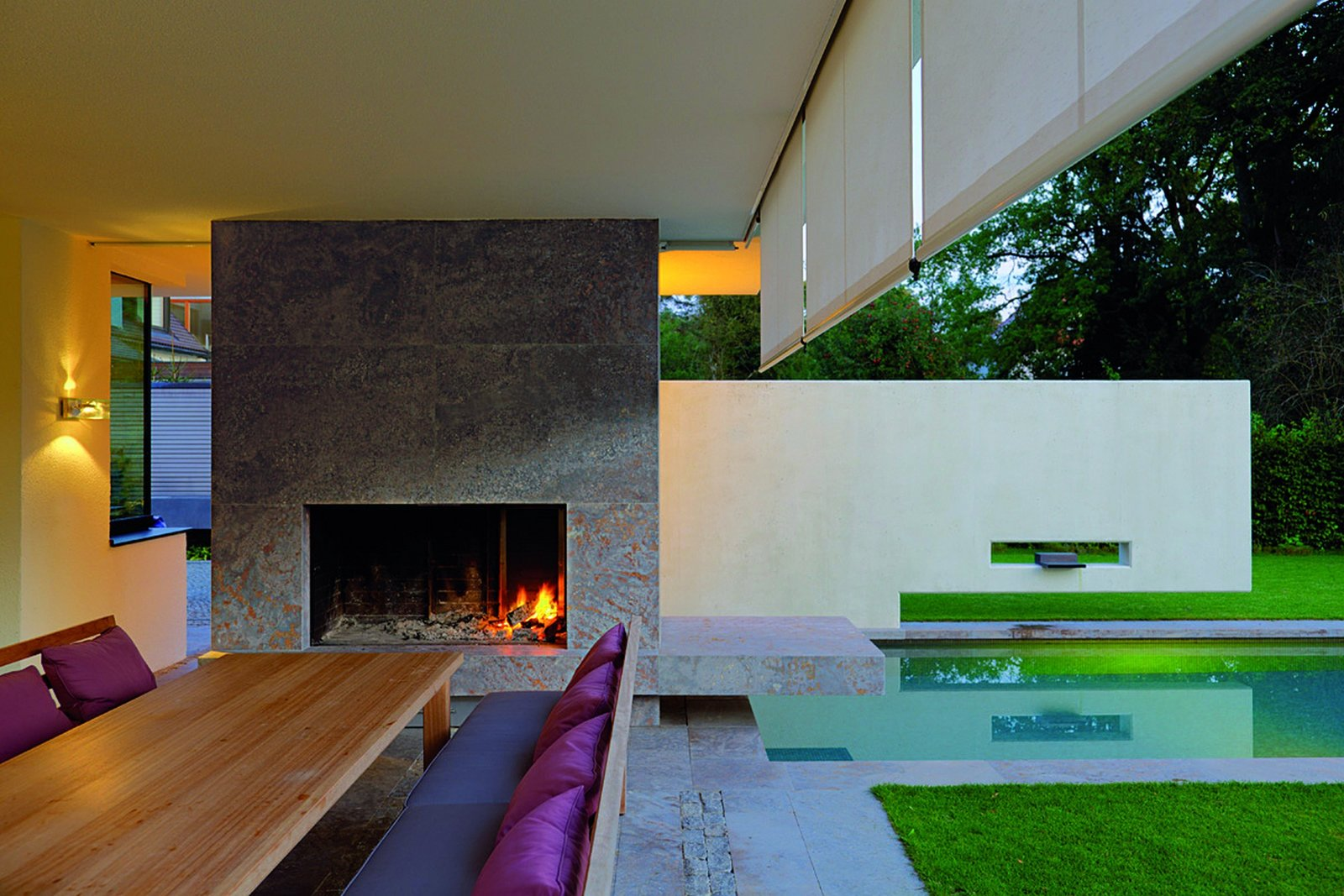 Outdoor and Back Yard  House I by Stephan Maria Lang