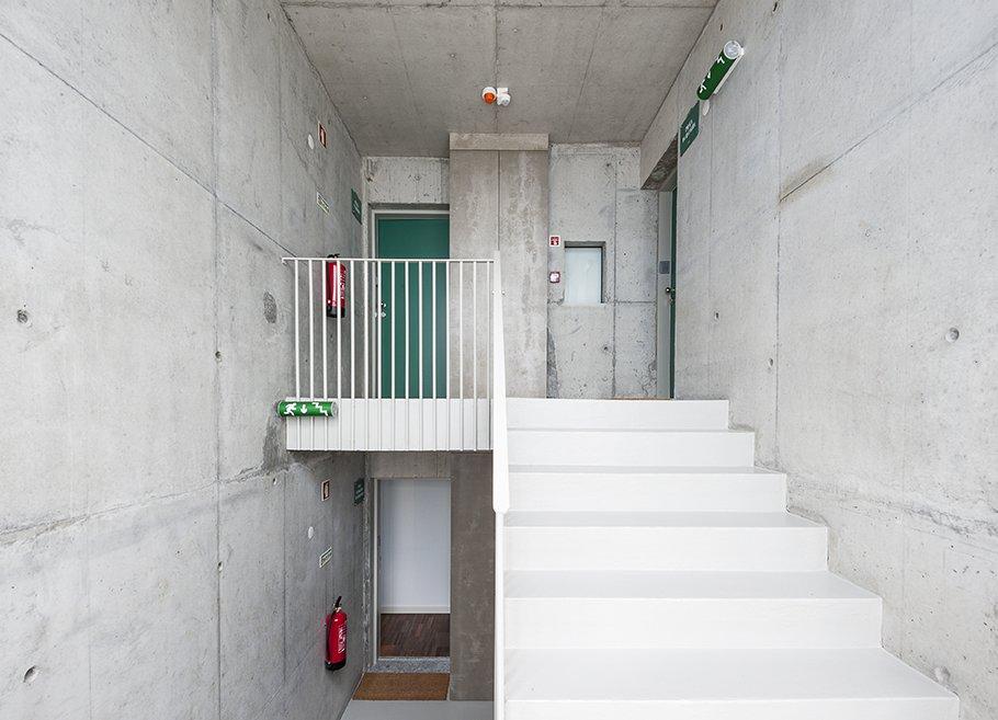 Staircase  Alferes Malheiro Building