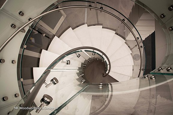 "Photo 1 of 2 in ""White Chocolate Spiral Stair"""