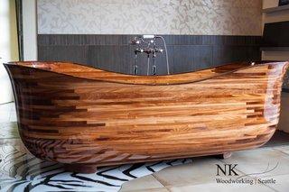 Luxury Lotus Bathtub