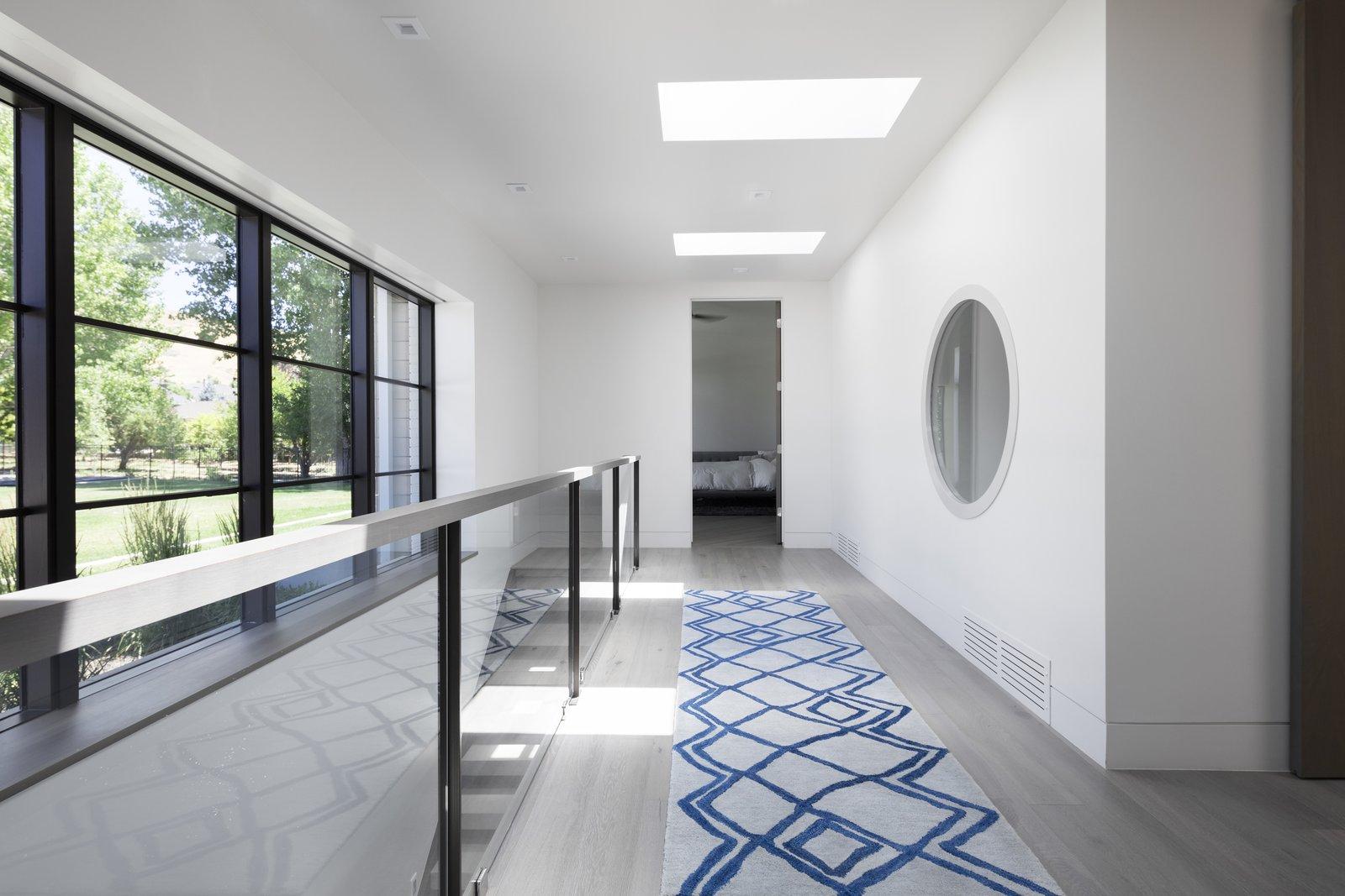 Hallway  Timpanogos House by Lloyd Architects