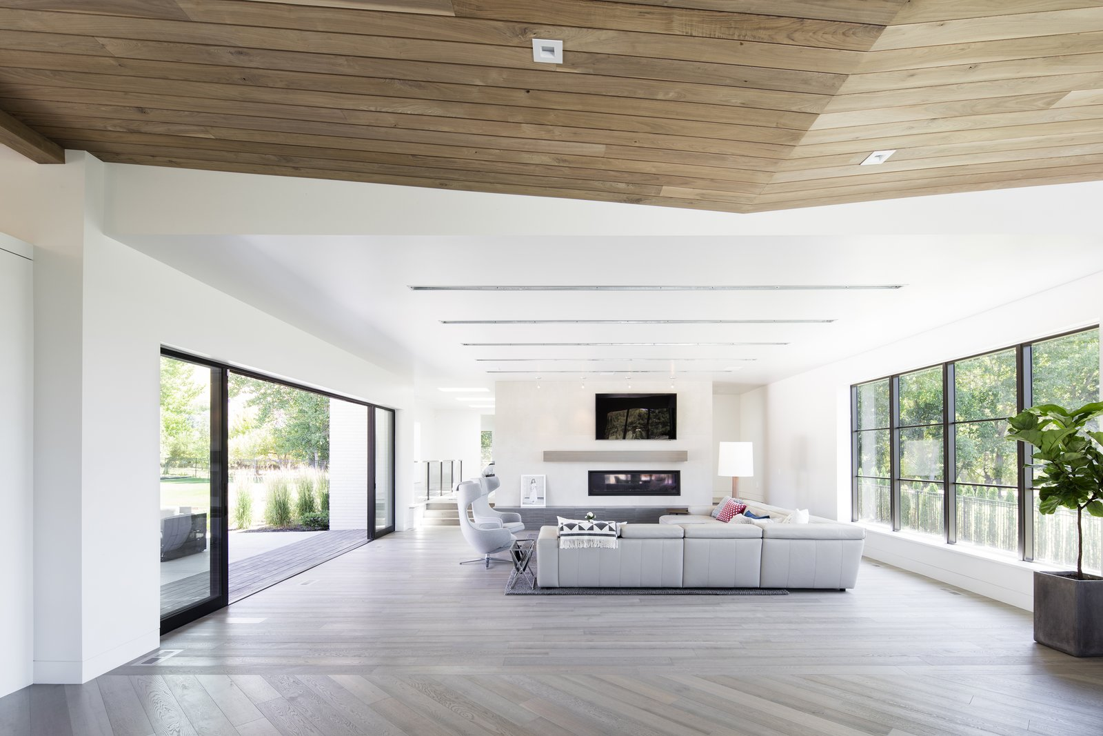 Living Room  Timpanogos House by Lloyd Architects