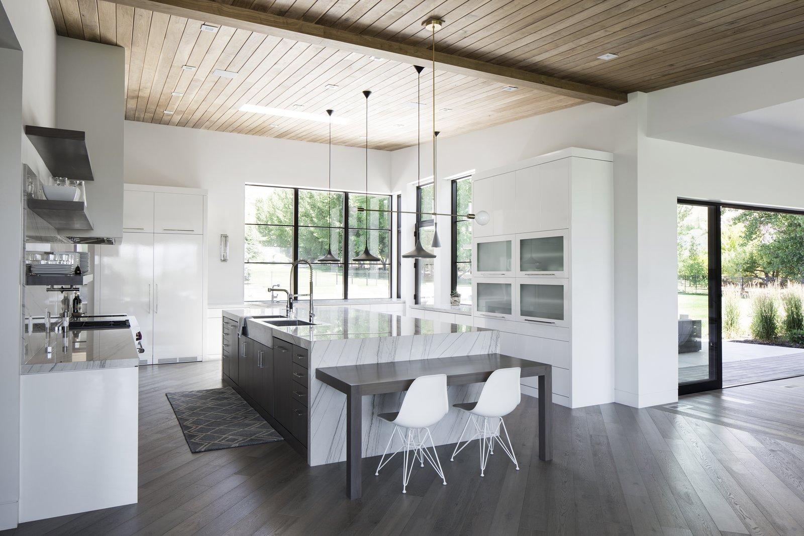 Kitchen  Timpanogos House by Lloyd Architects