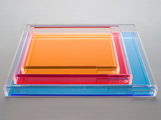 Acrylic Tray - Photo 1 of 1 -