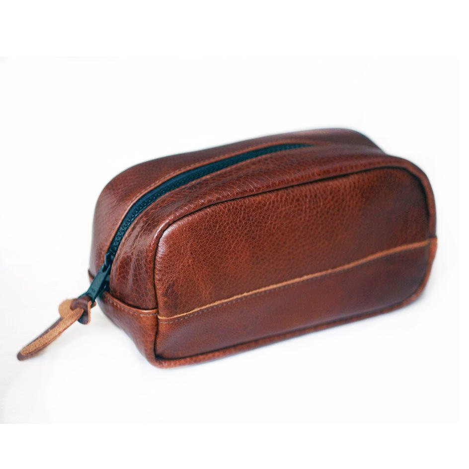 Photo 1 of 1 in Presley Leather Travel Kit