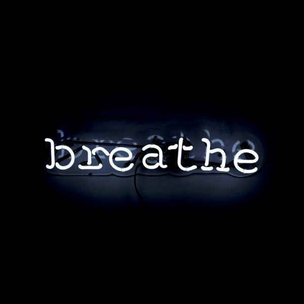 'Breathe' Neon Art