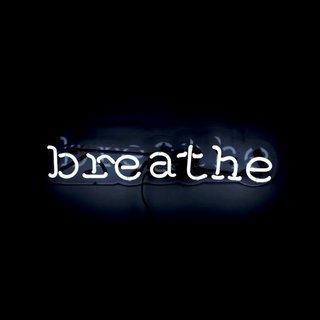 'Breathe' Neon Art