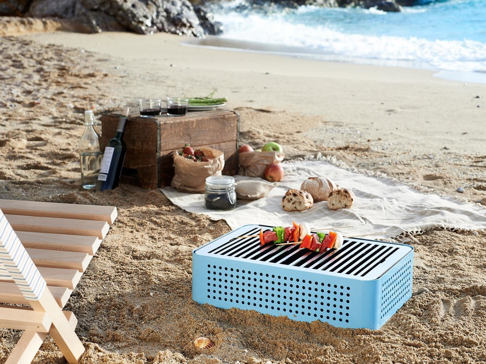 Portable Bbq Grill Mon Oncle V2