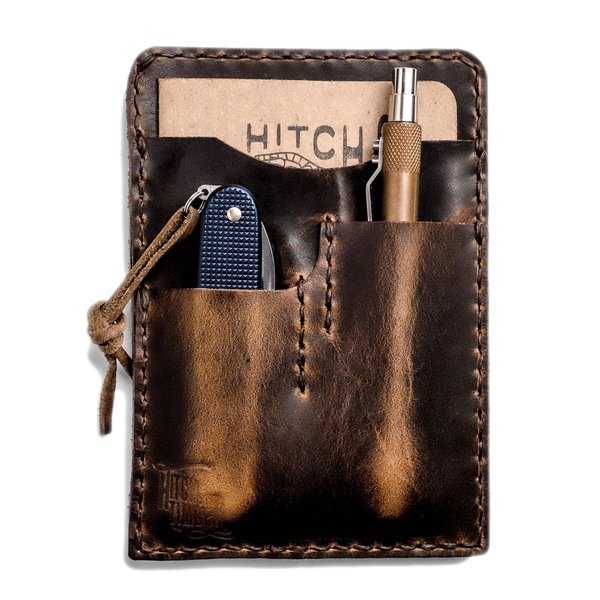 Handcrafted Leather Notebook Caddy 2.0