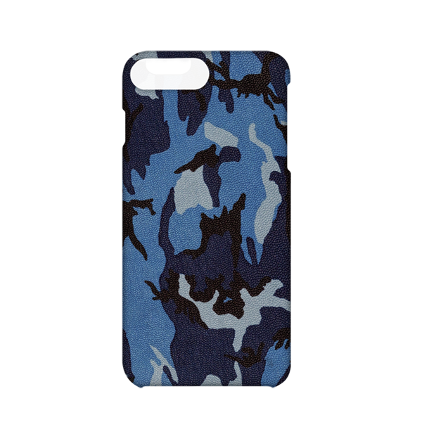 Maison Takuya Camouflage Goat Leather iPhone 7 Plus Case