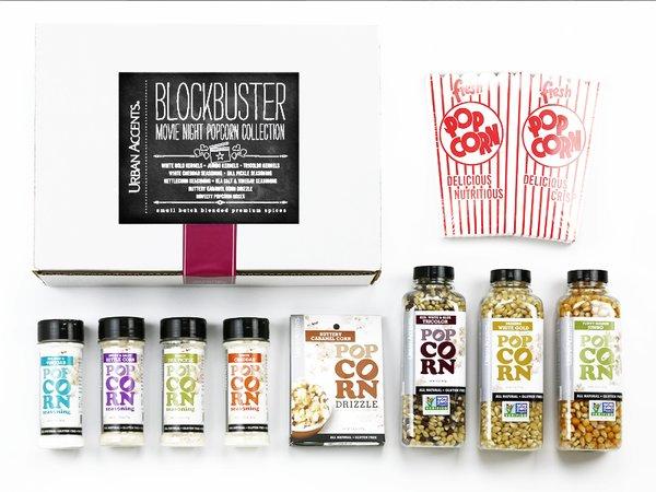 Blockbuster Movie Night Popcorn Collection