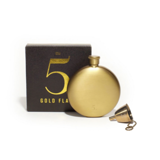 Izola Gold Flask & Funnel Set
