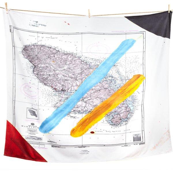 Julian Schnabel Artist Beach Towel
