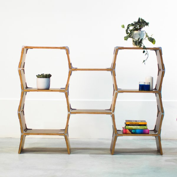 "Wooden Shelf ""5 Cell"""