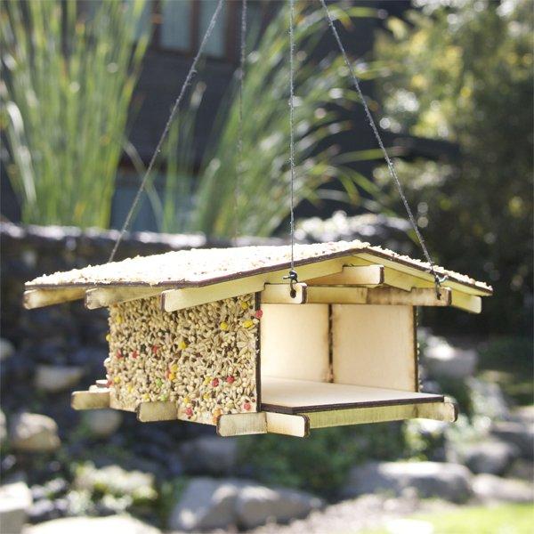Wooden Birdhouse Kit