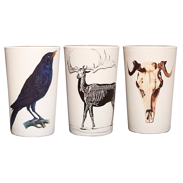 Creatures Votive Candle Holder (Set of 3)