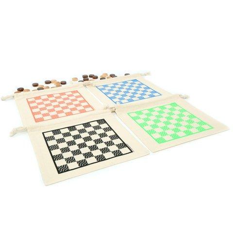 Checkers & Tic Tac Toe Game Set