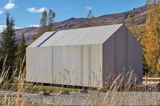 A Minimalist Cabin in New Zealand Is Crafted From Eco-Friendly Timber