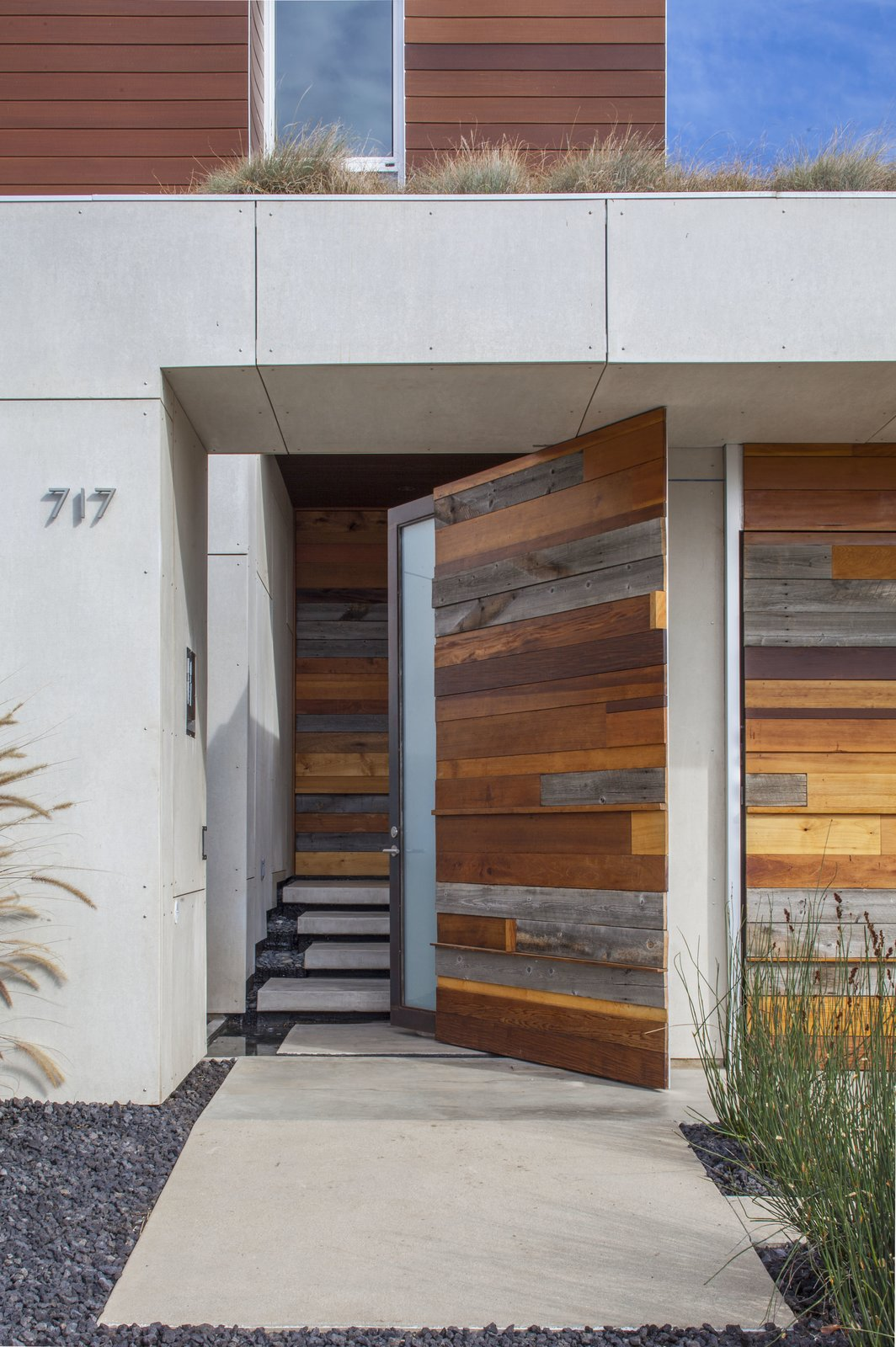 Doors, Exterior, Sliding, Wood, and Swing  Best Doors Swing Sliding Photos from Dawnsknoll