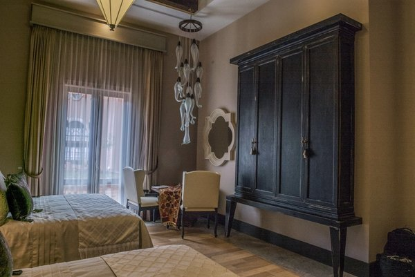 The beds and mattresses were custom sized to allow for what guests consider to be the right width and length to sleep in comfortably.