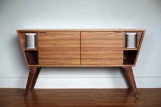 NV Modern Stereo Credenza - Photo 1 of 9 -