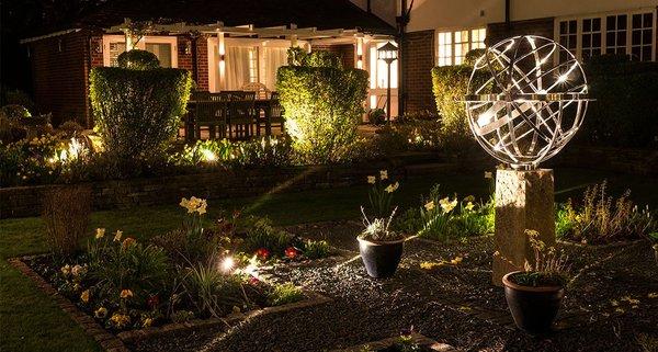 Освещение для сада