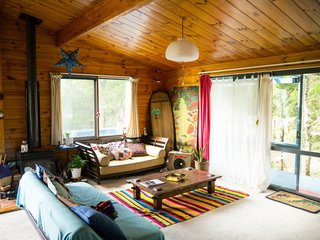 Hiromi Matsubara, CEO of Surfrider Foundation in Japan, is a free spirited yoga instructor, macrobiotic vegan chef, environmentalist, and all around amazing human being who embodies the generosity and hospitality of the Japanese people. She lives in this surf shack in the woods of Chiba, close to the beach in an incredible artist community where she hosts many a wandering traveler, showing them the best that Japan has to offer.