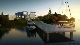 10 Beautiful Island-Style Shipping Container Homes