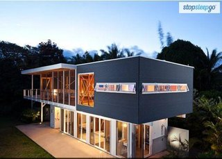 10 Dream Modern Home Rentals In Hawaii - Photo 7 of 10 - Enjoy a week or two in paradise in this modern private screen house floating in the embrace of three spectacular monkeypod trees. Located 45 minutes south of Hilo in the Puna district, Hale 'Ohai is an elegant sanctuary, a place to rest and reflect, a place to gather for special occasions, a place from which to explore and discover the Big Island of Hawaii.