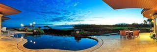 """10 Dream Modern Home Rentals In Hawaii - Photo 10 of 10 - In case you are inspired to settle for good into the dreamy Hawaiian lifestyle, why not just top-out and buy at the highest end of the market? While the Big Island is usually no. 1 on the """"Best Islands to Live On"""" annual ranking, this $28 million, 6,600-square-foot home on the west side of the Big Island is listed as the third most expensive home for sale on the island. If you can """"settle"""" for five beds, six baths and views from your pool that will make you weep with joy, this house is worth it."""