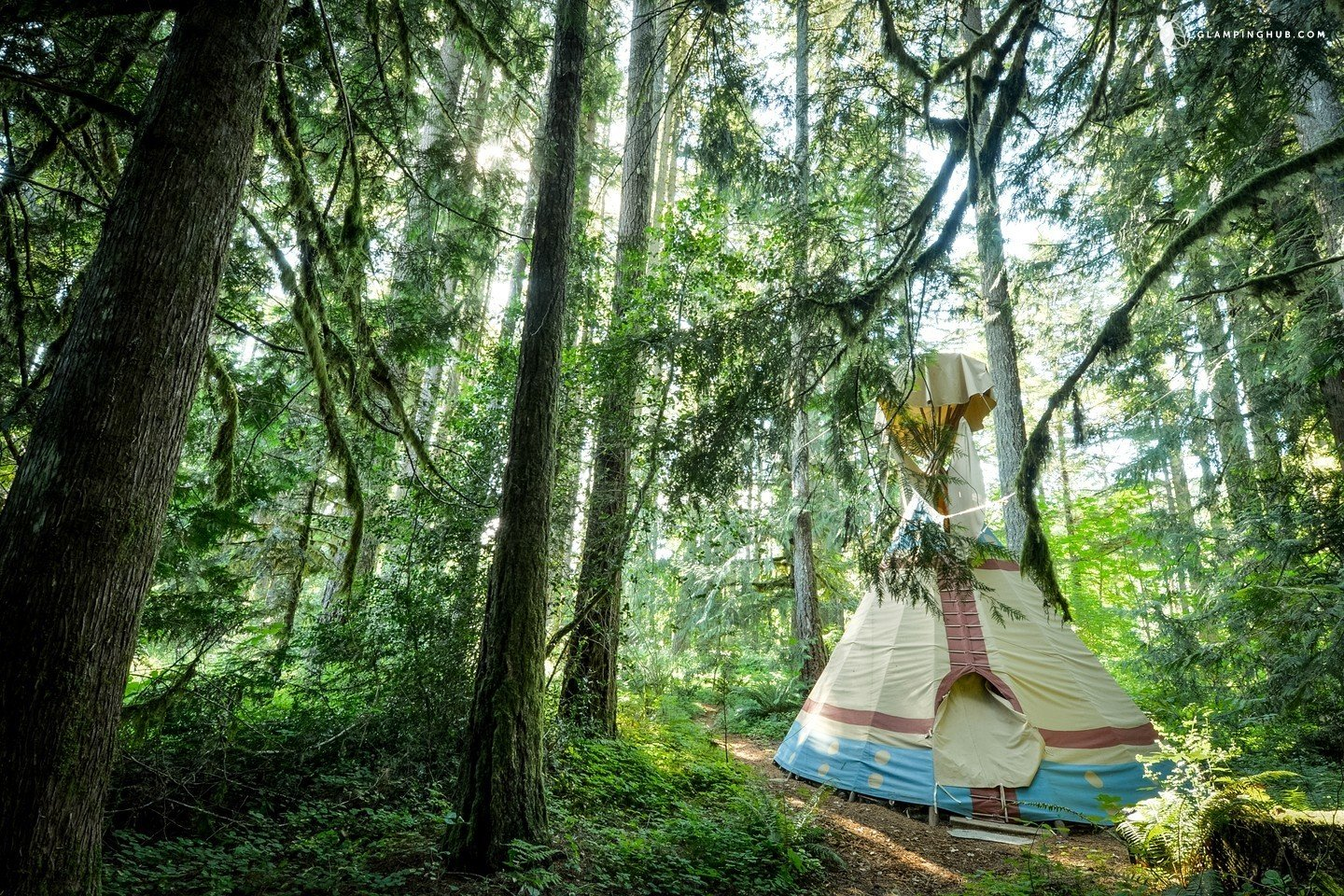 Exterior and Tent Building Type  Photo 12 of 14 in 12 Terrifically Glamorous Camping Options