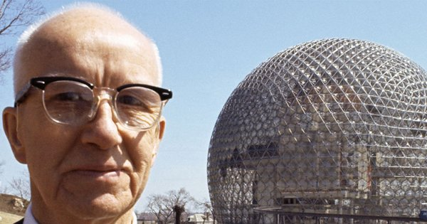 R. Buckminster Fuller is credited with inventing the geodesic dome, and designing over 3000 domes  Photo 1 of 13 in Make Your Dome Dreams Come True With These 12 Kit Home Companies