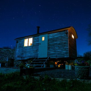 Dimpsey Glamping in the Blackdown Hills of Somerset has been awarded Gold by Visit England's Quality in Tourism inspectors.