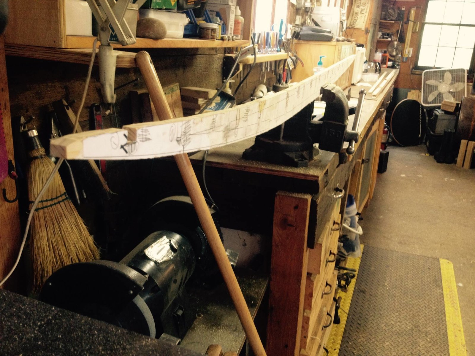 The  Photo 8 of 26 in Crafting a Hollow Wood Surfboard from Old-Growth Redwood