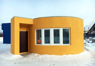 World's First 3D-Printed House Springs up in Russia in 24hrs - Photo 7 of 8 -