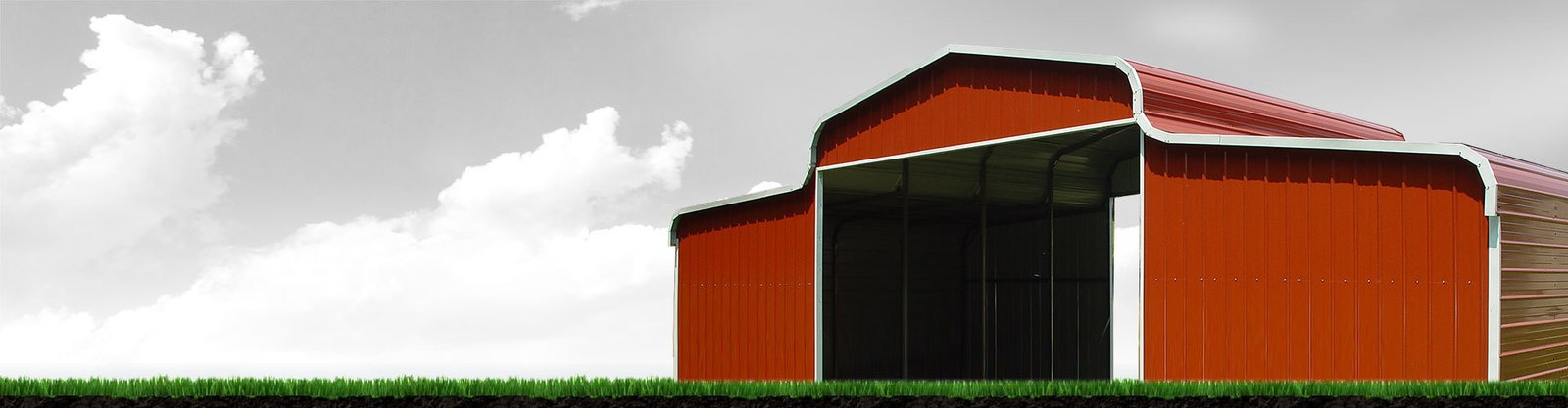 Elephant Barns gives the classic country-side red barn a modern spin, delivering pre-engineered metal buildings that can be customized to your specific needs.  Photo 7 of 11 in 10 Prefab Barn Companies That Bring DIY to Home Building