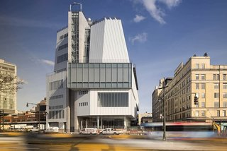 The Whitney Museum of American Art's Renzo Piano-designed building is a 200,000-square-foot exhibition replacement of Marcel Breuer's 1966 brutalist Upper East Side masterpiece.