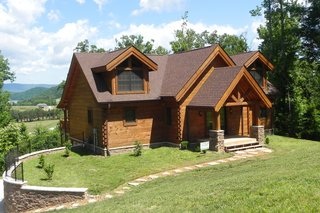 Countrymark Homes provides rustic and hand-hewn Appalachian profiles. Their Hewn Profile is handcrafted in a local Amish community in southern Indiana.